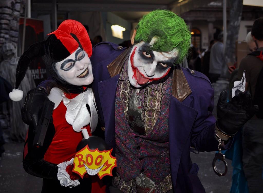 Harley Quinn e Joker - Foto di Damiano Paganelli