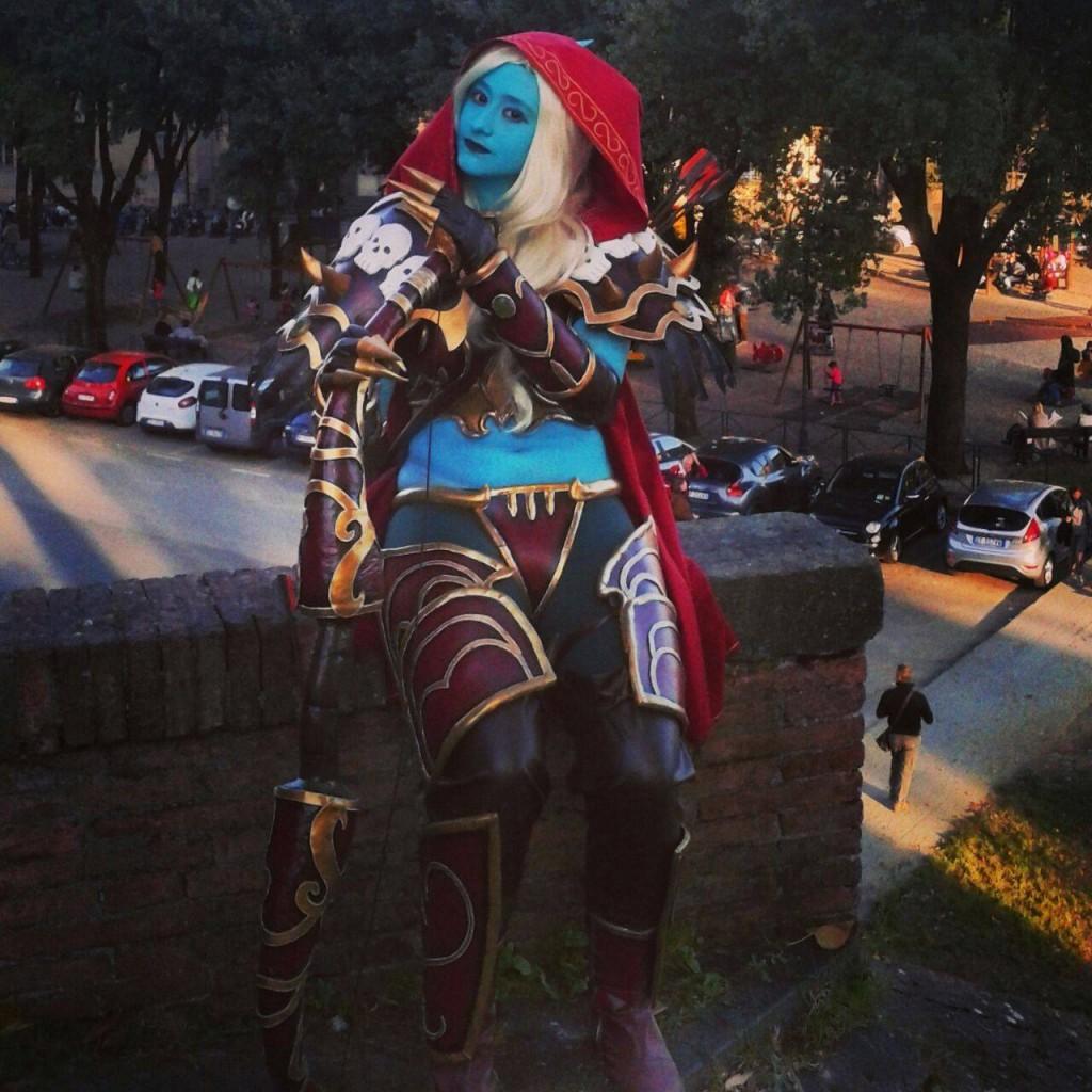 Sylvanas Windrunner, Warcraft - Foto di Benedetta Romani