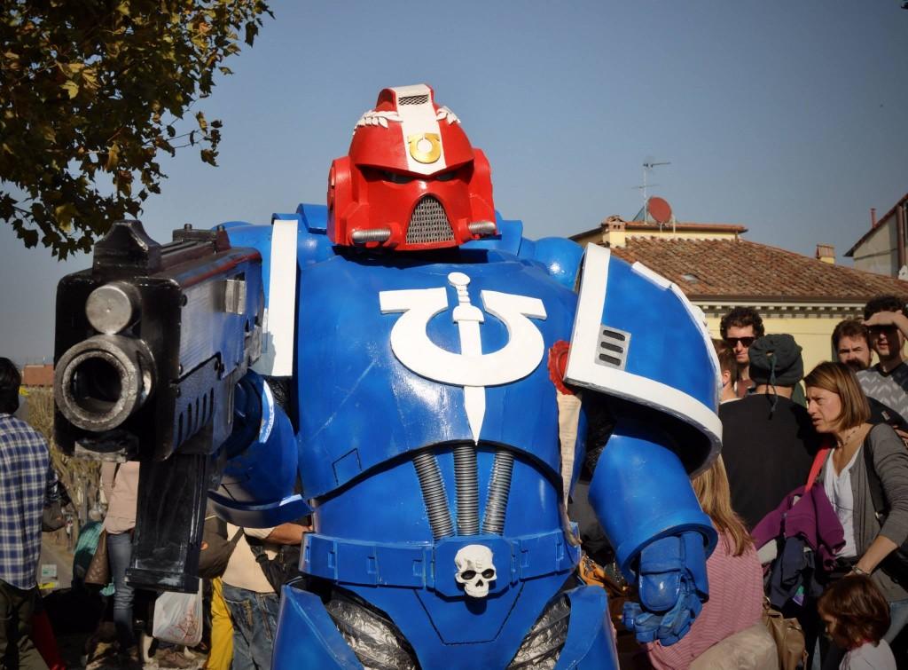 Ultramarine, Warhammer 40.000 - Foto di Damiano Paganelli