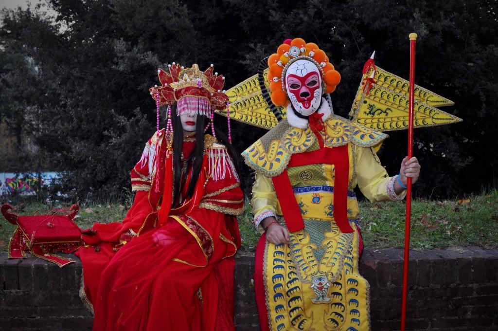 Aizen Ming Niang e Sun Wukong - Foto di Damiano Paganelli