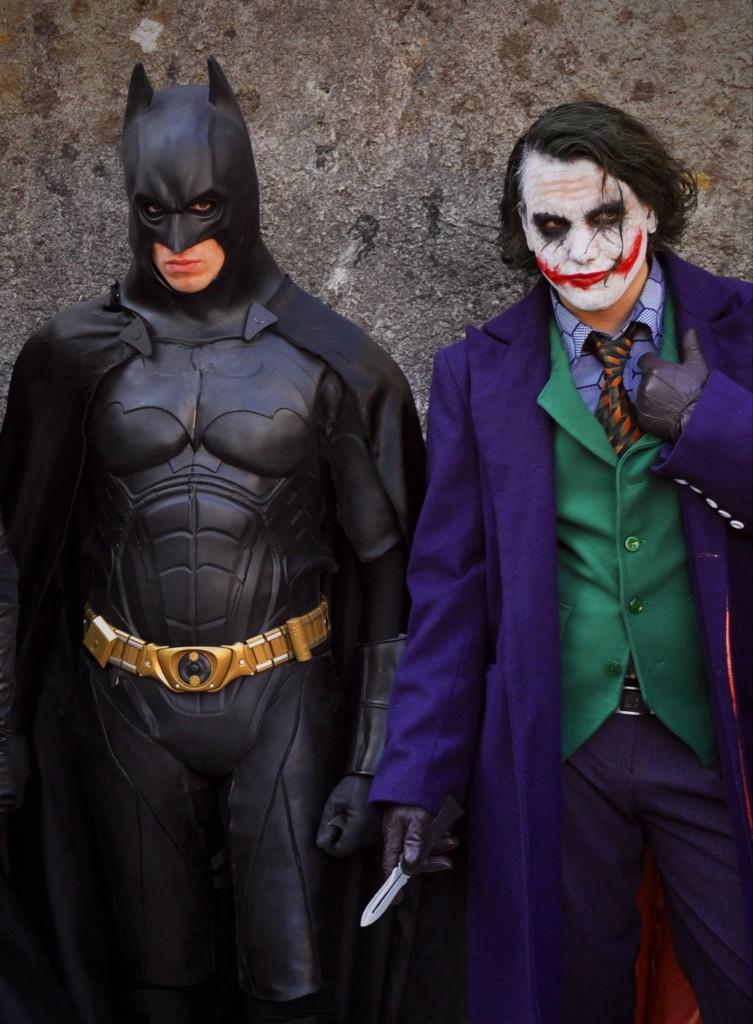 Joker e Batman - Foto di Damiano Paganelli