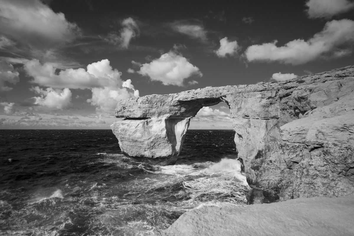 Visitare malta gozo blog100days - La finestra azzurra gozo ...