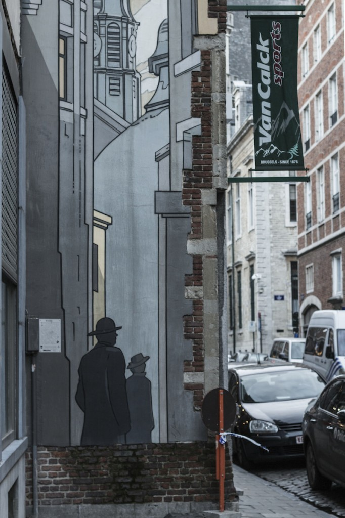 Fumetti Murale Bruxells