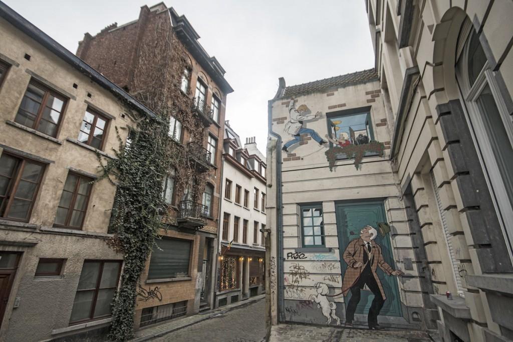Ric Hochet, Rue du Bon Secours 9