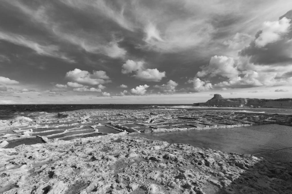Le saline di Xwejni, sull'isola di Gozo