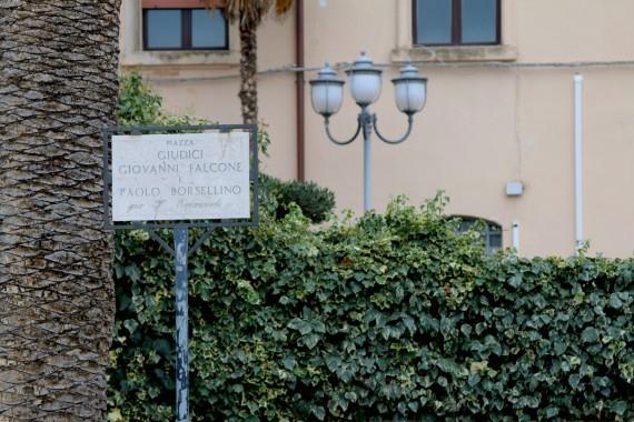 Piazza Giudici Falcone e Borsellino Corleone