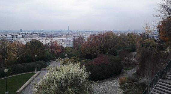 Parc de Belleville, Parigi
