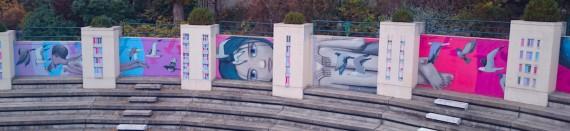 Street Art Belleville Parigi
