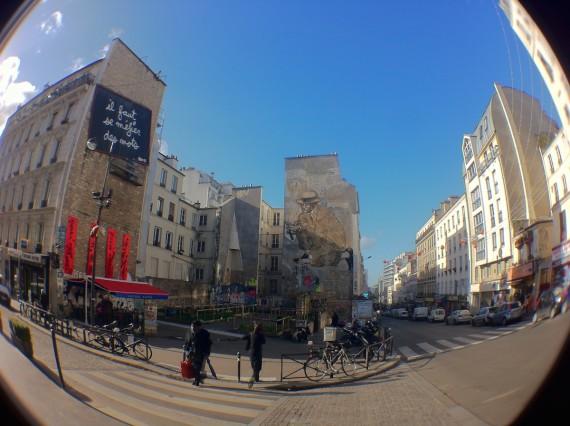 belleville, parigi street art