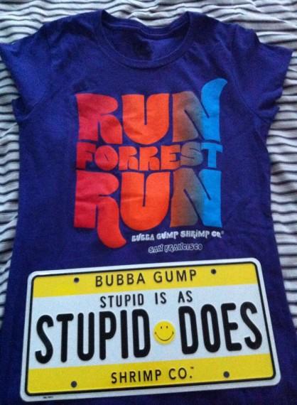bubba gump shopping