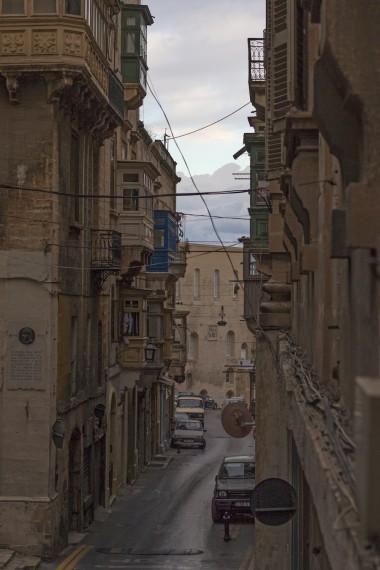 La Valletta streets, Malta