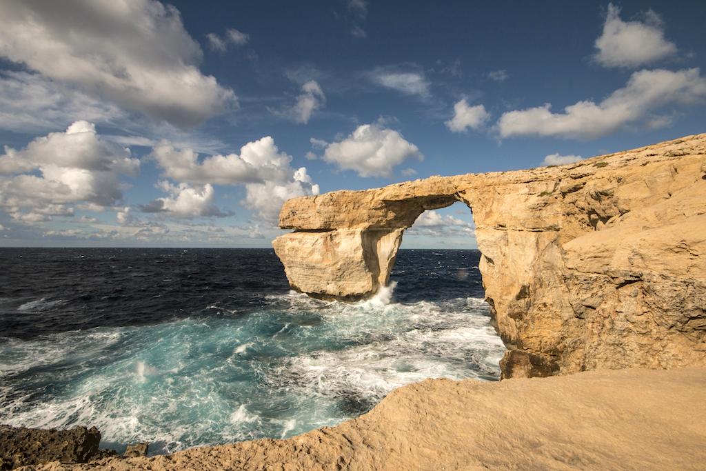 Dove si trova malta e 10 curiosit blog100days - Malta finestra azzurra ...