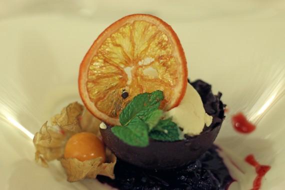 Sfera al Cioccolato Ristorante Palagina