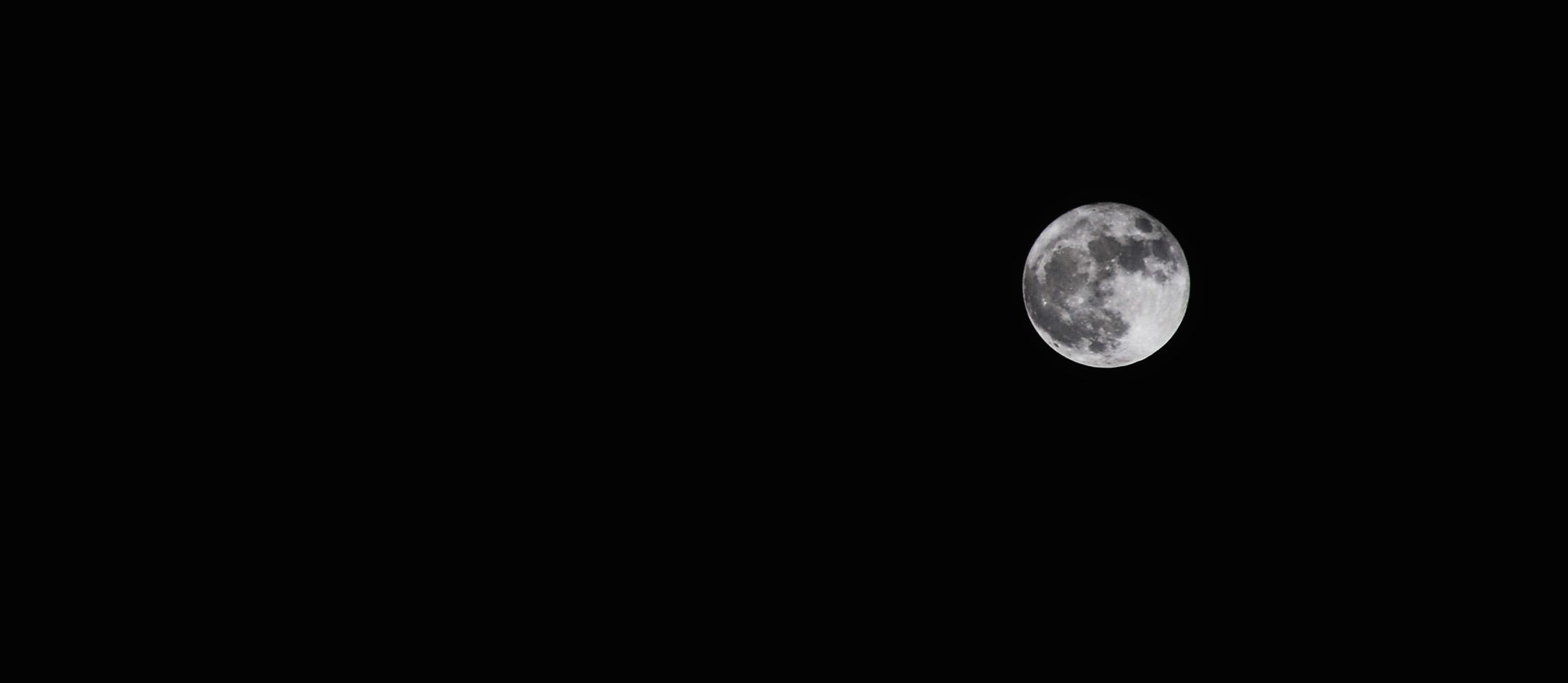 luna perigeo - foto di Kinzica Sorrenti