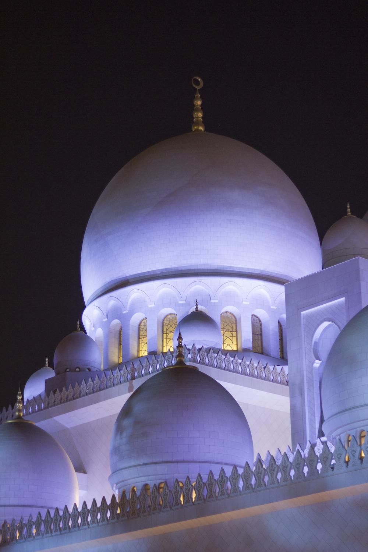 Cupola Grande moschea Sheikh Zayed
