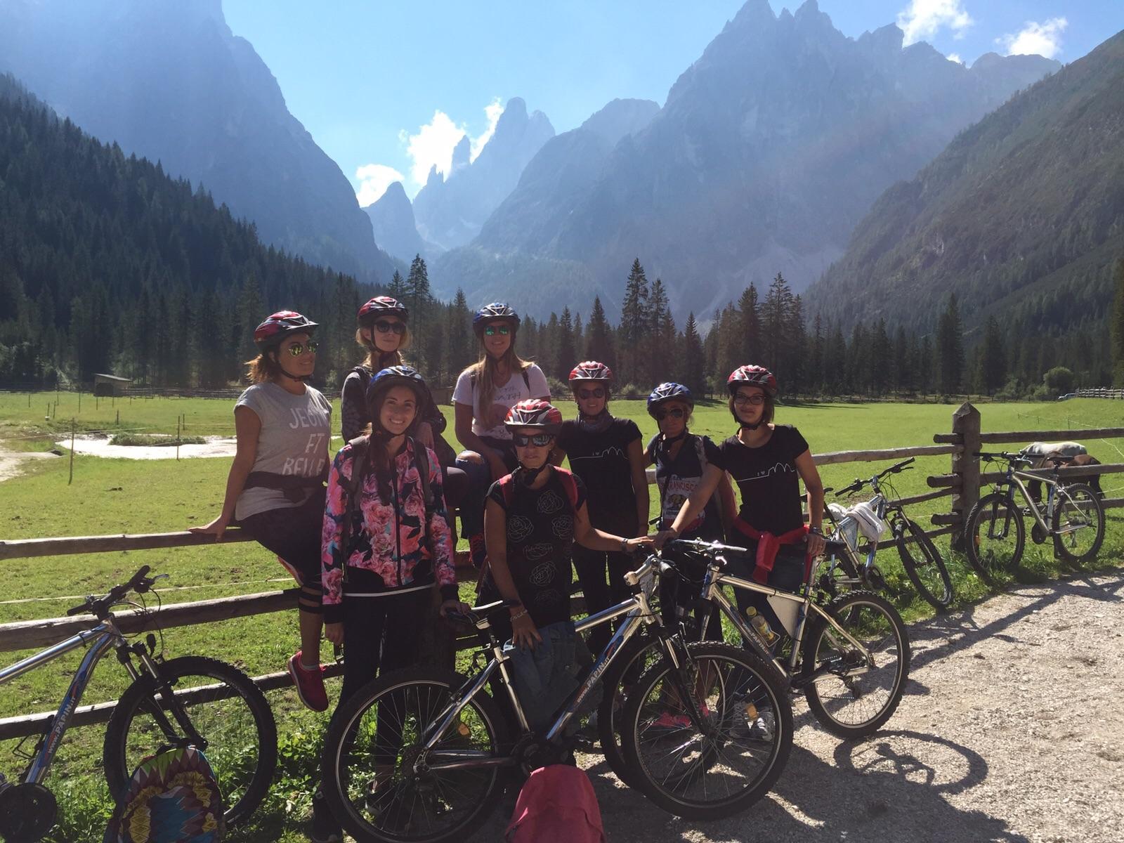 mountain bike alta pusteria val fiscalina parco delle tre cime