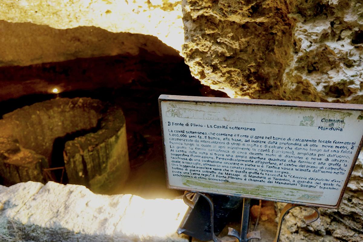 TEINET - Percorso Enogastronomico - Fonte Pliniano