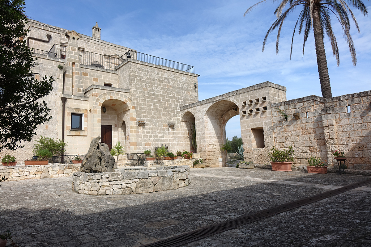 TEINET - Percorso Enogastronomico - Masseria Bosco