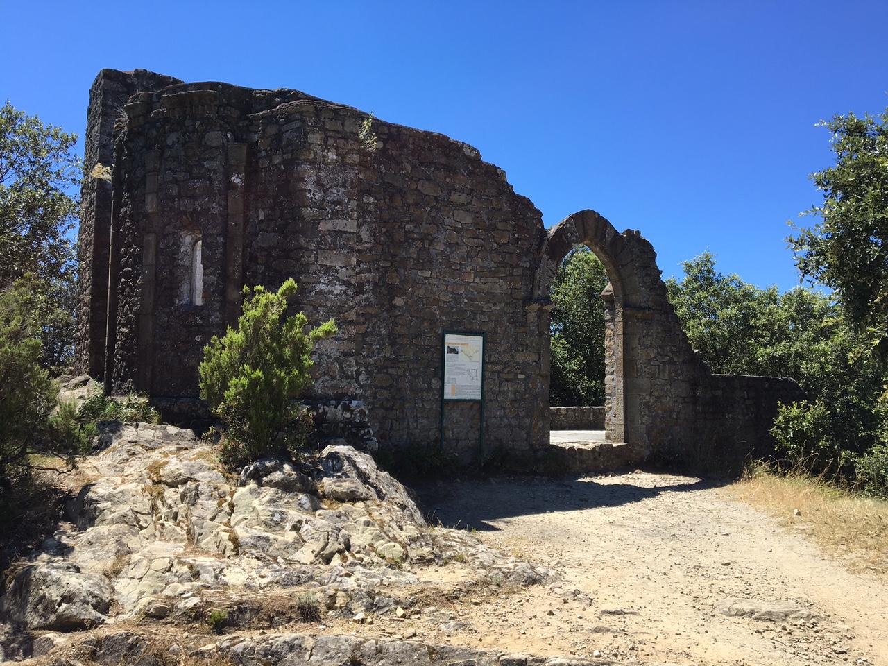 cosa fare alle cinque terre ruderi dell'Eremo di Sant'Antonio Punta Mesco